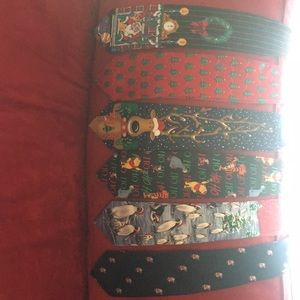 Collection of Christmas Ties will sell separately